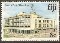 Fiji Used Sc 413 General Post Office, Suva