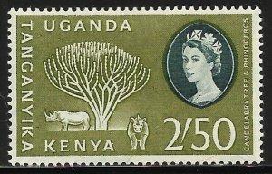 Kenya, Uganda & Tanzania 1960 Scott# 132 MH