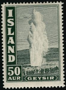 Used Iceland 1938 #208 F-VF hr SCV$24...grab a bargain!!