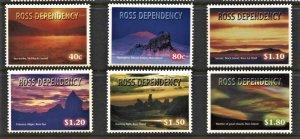 STAMP STATION PERTH Ross Dependency #L55-L60 Night Skies Set  MNH CV$15.00