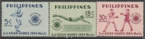 PHILIPPINES 610-12 MOG SPORTS R6-166-7