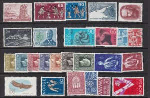 NORWAY^^^^^sc#511//566  MNH/MH  & used  collection $ 42.00@ lar1060nor06