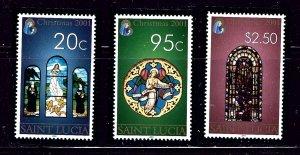 St Lucia 1143-45 MNH 2001 Christmas