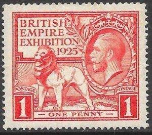 Great Britain 203 Unused/Hinged - British Empire Exhibition 1925 - George V