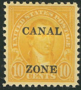 MALACK Canal Zone #87 VF/XF OG Hr., well centered, f..MORE.. ww2093