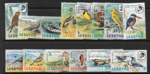 LESOTHO SG437/50 1981 BIRDS  MNH