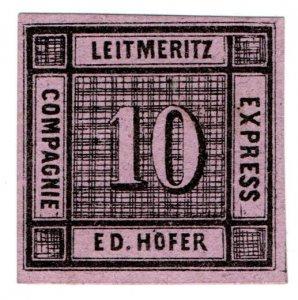 (I.B) Germany Local Post : Express Packet Post 10nkr (Ed Hofer)