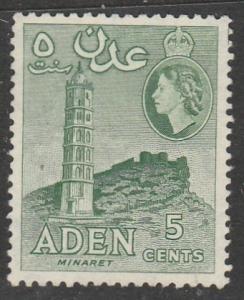 Aden   1956  Scott No. 48  (N*)