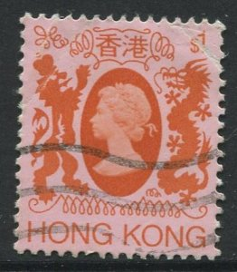 STAMP STATION PERTH Hong Kong #397 QEII Definitive Issue Used 1982 CV$0.30