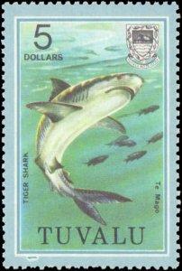 Tuvalu #96-113, Complete Set(19), 1979, Fish, Marine Life, Never Hinged