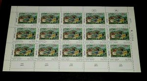 1972, ISRAEL #481, ART WORKS, 0.70, SHEET/ 15 , MNH, NICE! LQQK!