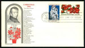 #2165 - 2166 Christmas Poinsettia & Madonna - Aristocrat ...