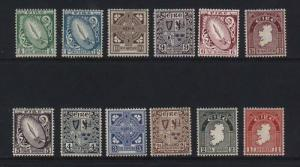 Ireland #106 - #117 VF Mint Set