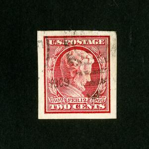 US Stamps # 368 Superb Used