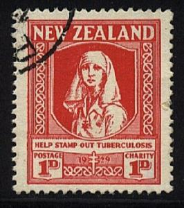 NEW ZEALAND 1929 Health Nurse fine used....................................20593