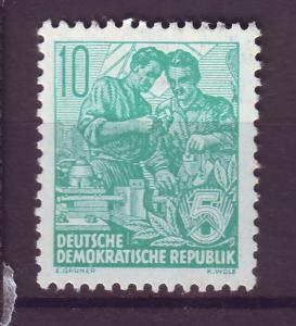 J14713 JLstamps 1953-4 germany DDR mh #191 w/imprint
