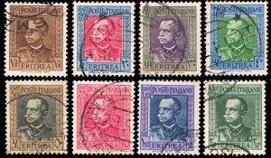 Eritrea Scott 150-157 Used.