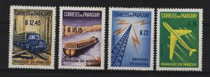 Paraguay 1961 AIR / Paraguay en Marcha (4/4) UNUSED