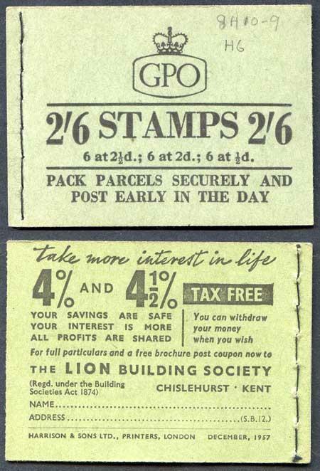 F61 2/6 Booklet Dec 1957