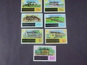 ST. KITTS  # O2a-O10a--MINT/NEVER HINGED--OFFICIALS--COMPLETE SET--QEII--1980