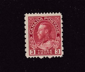 CANADA # 184 VF-MNH KGV 3cts ADMIRAL CAT VALUE $36+
