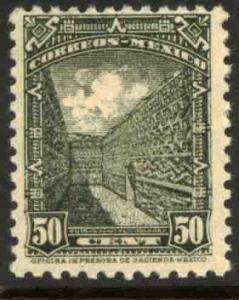 MEXICO 799 50cts 1934 Definitive Wmk S.H.C.P. (272) MNH, VF.