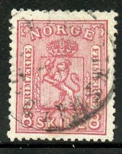 Norway # 15, Used. CV $ 70.00