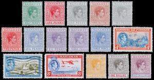 Bahamas Scott 100-112 (1938-46) Mint/Used H VF, CV $82.50 M