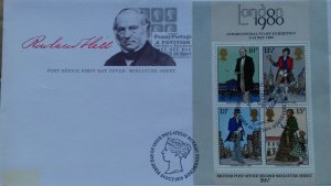 Great Britain 1979 The 100th Anniversary of the Death of Sir Rowland Hill FDC