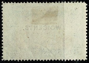 BRITISH GUIANA QV 1899 2c-15c NEW VARITY USED SG224 Wmk.Cr. CC(S.ways) P.14 VGC
