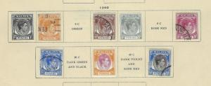 VEGAS 1949-57 Straits Settlements As Shown See Scans For 6 Pages (CP22)