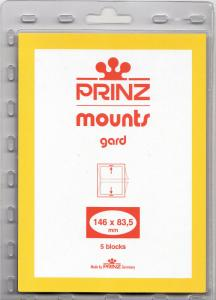 PRINZ CLEAR MOUNTS 146X83.5 (5) RETAIL PRICE $6.50