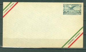 MEXICO AIR  STATIONERY ENVELOPE...UNUSED
