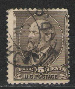 US 1882 Sc# 205 Used G/VG - Nice copy