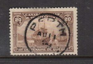Canada #103 VF Used With Perth Ont CDS Aug 11 1909 Cancel