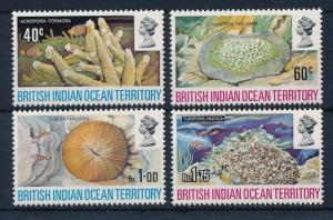 [30345] British Indian Ocean Territory 1972 Marine Life Corals MLH