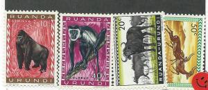 Ruanda-Urundi #137-140 (MH) CV $1.00