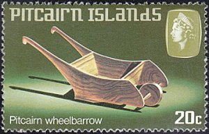Pitcairn Islands # 195 mnh ~ 20¢ Wheel Barrow