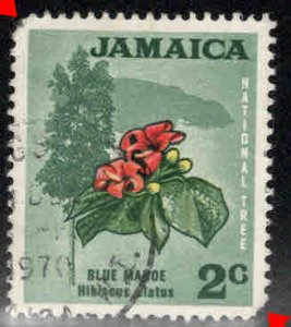 Jamaica Scott 307 Used flower stamp