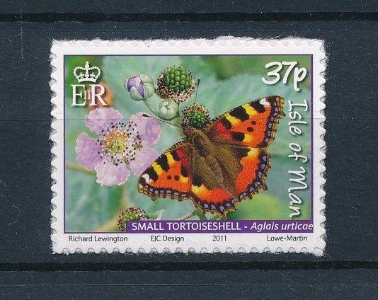 [27400] Isle of Man 2011 Butterflies Papillons from Booklet self adhesive MNH