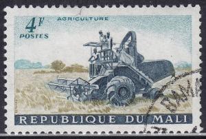 Mali 20 CTO 1961 Plowing The Fields