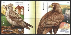 Romania. 2019. Birds, Europe Sept. MNH.