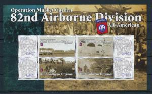 [81160] Ghana 2009 Second World war Operation market garden Sheet MNH