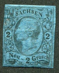 Saxony    SC.# 11a used