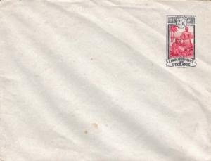 French Polynesia Higgins & Gage B14 Unused with creases.