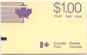 Canada - 1975 $1 Caricature Booklet w. Counter #BK75