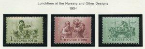 HUNGARY SCOTT#C146/48  MINT NEVER HINGED AS SHOWN--SCOTT VALUE $4.80