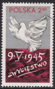 Poland 2388 Victory Over Fascism 1980