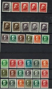 1914/20 Bayern Ludwig III MH and MNH lot