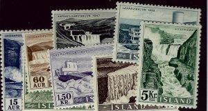 Iceland #289-296 Mint F-VF SCV$60.35...Grab a Deal!